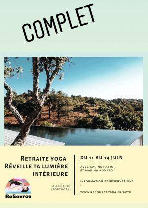 Retraite YOGA 3 jours / 3 nuits du 11 au 14 juin 2020 dans les terres préservées de l'Alentejo (Portugal)